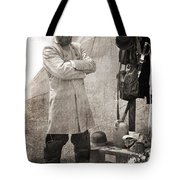 Getting Ready Tote Bag