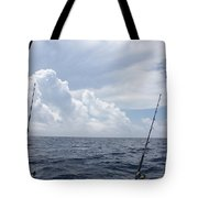 Getting Ready To Fish Tote Bag