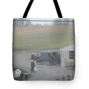 Getting Ready To Load The Buggy Tote Bag