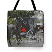 Getting The New Horse Home Tote Bag