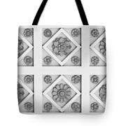 Getty Villa Coffered Peristyle Ceiling Tote Bag
