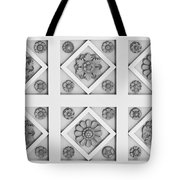 Getty Villa Coffered Peristyle Ceiling Tote Bag by Teresa Mucha