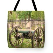 Gettysburg Cannon Cemetery Hill Tote Bag