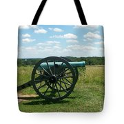 Gettysburg Cannon Tote Bag by Kevin Croitz