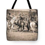 Gettysburg Cavalry Battle 7970s  Tote Bag