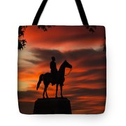 Gettysburg - Gen. Meade At First Light Tote Bag