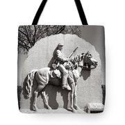 Gettysburg National Park 17th Pennsylvania Cavalry Monument Tote Bag
