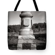 Gettysburg National Park 30th Pennsylvania Infantry Monument Tote Bag