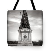 Gettysburg National Park 42nd New York Infantry Monument Tote Bag
