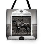 Gettysburg National Park 9th New York Cavalry Monument Tote Bag