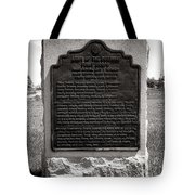 Gettysburg National Park Army Of The Potomac First Corps Monument Tote Bag