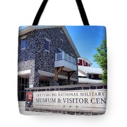 Gettysburg National Park Museum And Visitor Center Tote Bag