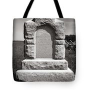 Gettysburg National Park Third West Virginia Cavalry Monument Tote Bag