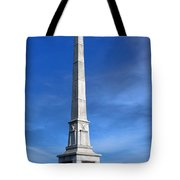 Gettysburg National Park United States Army Regulars Memorial Tote Bag