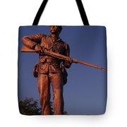 Gettysburg Statue Tote Bag