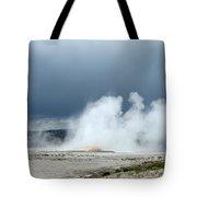 Geyser Field Tote Bag