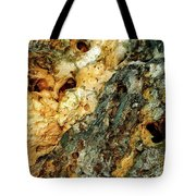 Geyser Paisley Art Tote Bag