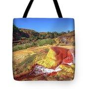 Geysers Of Madagascar Tote Bag