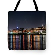 Ghirardelli Square At Night Tote Bag