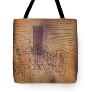 Ghost Chamber With The Tall Door New Version Tote Bag