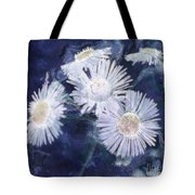 Ghost Flowers Tote Bag