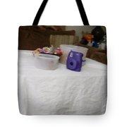 Ghost Food Tote Bag