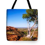 Ghost Gum On Kings Canyon - Northern Territory, Australia Tote Bag