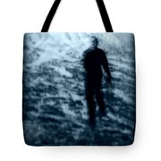 Ghost In The Snow Tote Bag