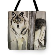 Ghost In The Woods Tote Bag