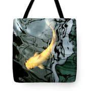 Ghost Koi Carp Fish Tote Bag