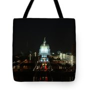 Ghost Lights Of Pa State Capital   # Tote Bag