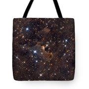 Ghost Nebula Tote Bag