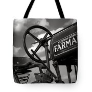 Ghost Of Farmall Past Tote Bag