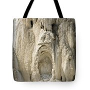 Ghost Of Mammoth Hot Springs Tote Bag