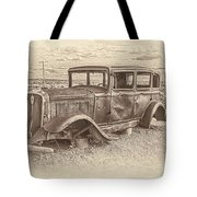 Ghost Of The Mother Road Tote Bag
