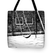 Ghost On A Swing Tote Bag