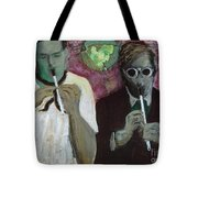 Ghost Piper Tote Bag