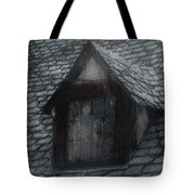 Ghost Rain Tote Bag