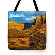 Ghost Ranch At Sunset, Abiquiu, New Tote Bag