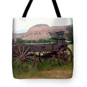 Ghost Ranch Wagon Tote Bag
