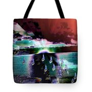 Ghost Regatta Tote Bag