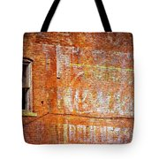 Ghost Sign Tote Bag