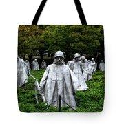 Ghost Soldiers Tote Bag
