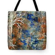 Ghost Trees Tote Bag