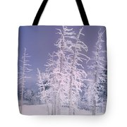 Ghost Trees Yellowstone National Park Tote Bag