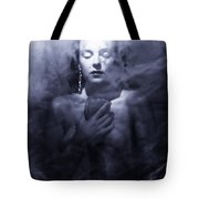 Ghost Woman Tote Bag by Scott Sawyer