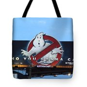 Ghostbusters In La Tote Bag