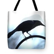 Ghosted Grackle Tote Bag