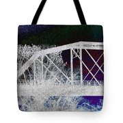 Ghostly Bridge Tote Bag