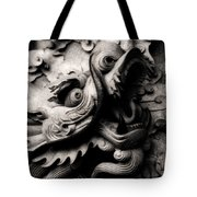 Ghostly Dragon Tote Bag